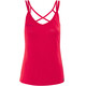 Bergans Cecilie Singlet Ladies Strawberry/Bougainvillea